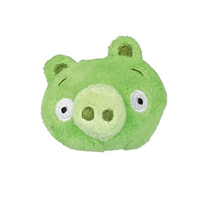 Angry Birds Fuzzy Feathers Plush Pencil Topper -Green Pig