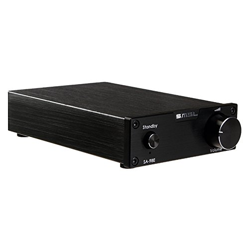 SMSL SA-98E 2x160W Big Power TDA7498E HiFi Stereo Digital Amplifier Black