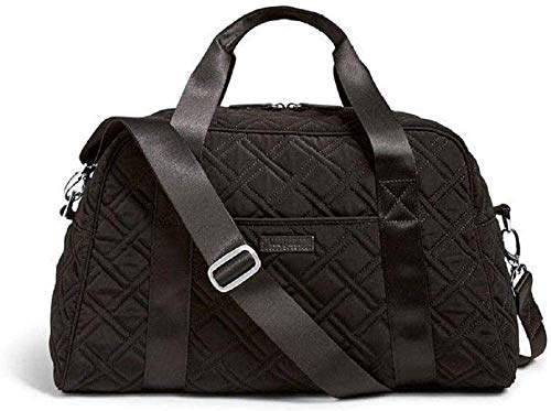Fitness sports store Womens small gym bag quilted black