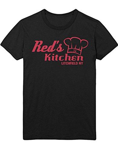 T-Shirt Orange is The New Black RED\'S Kitchen C210049 Schwarz M