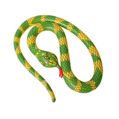 Aufblasbare Schwimm Snake Aufblasbare Scary Snake Luftballon, Spielzeug for Garten Farm Pool zcaqtajro
