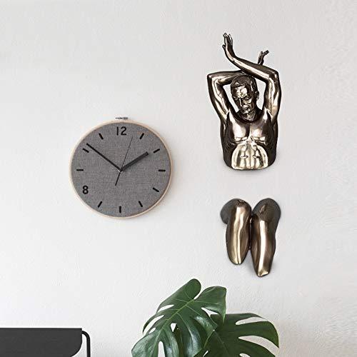 Gannon Front Einfache europäische und amerikanische Cast Kupfer-Abbildung Statue Ornament Resin Crafts Creative-Arbeitszimmer Schlafzimmer Hotel hängende Dekorationen