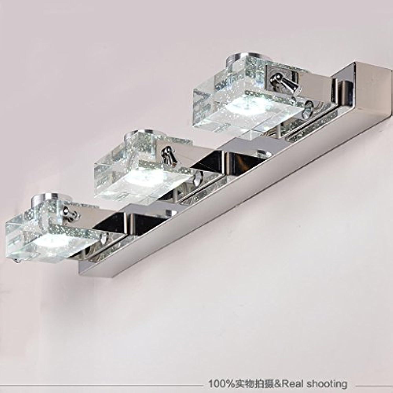 &Spiegelleuchte LED-Spiegel-Scheinwerfer, Kristallspiegel-vorderes helles Badezimmer-Badezimmer-Toiletten-Wand-Lampe bilden Spiegel-Lichter