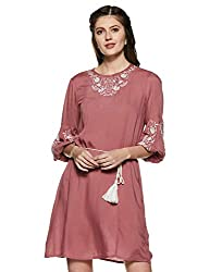 Van Heusen Woman Crepe a-line Dress