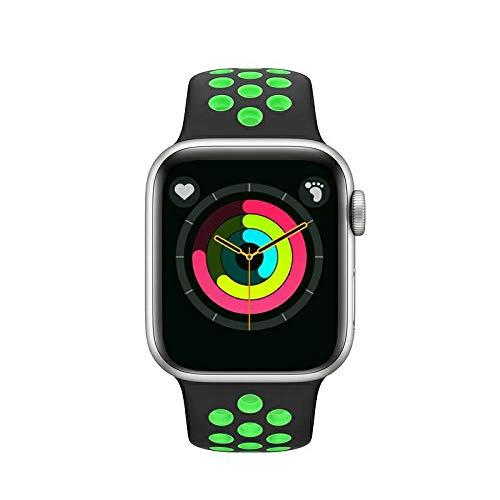 APPLY Smartwatch,Reloj Inteligente con Pulsómetro,Cronómetros,Calorías,Monitor de Sueño,Podómetro Monitores de Actividad Impermeable IP68 Smartwatch Hombre Reloj Deportivo para Android iOS