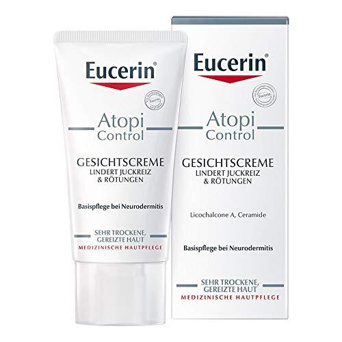 Eucerin, AtopiControl, Gesichtscreme, 50 ml