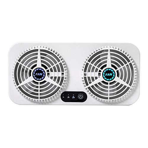 FAVOMOTO Ventilador de Circulación de Aire Del Extractor Del Coche Del Refrigerador Del Coche de La Interfaz Del USB Del Verano