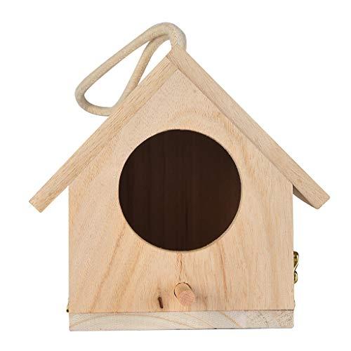 jieGorge Large Nest Dox Nest House Bird House Bird House Bird Box Bird Box Wooden Box, Kitchen,Dining & Bar for Christmas Day (Khaki)