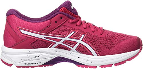 Asics Gt-1000 6, Zapatillas de Running para Mujer, Rosa (Cosmo Pink/White/Prune), 38 EU