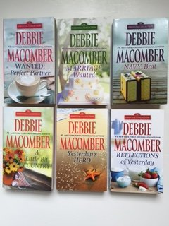 Download Debbie Macomber (Set of 6) Wanted: Perfect Partner; Marriage Wanted; Navy Brat; Little Bit Country B01DWOBS6K
