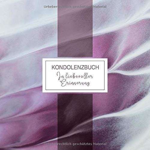 Kondolenzbuch: Trauerbuch Mit Zitat Der Kleine Prinz, Blanko, Zum Ausfüllen - Aufrichtige...