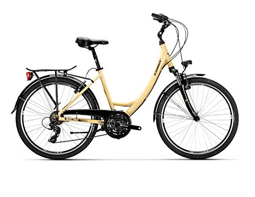 Conor Bicicleta Malibu Mixta Crema WM. Bicicleta para Ciudad