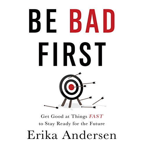 Be Bad First audiobook cover art