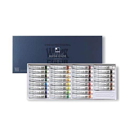 ShinHan Art Professional Watercolor Paint 7.5ml Tubes 30 Color Set