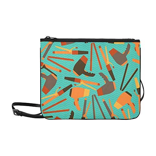Jungen Umhängetasche Cartoon Nette Mode Mädchen Haar Lockenwickler Verstellbarer Schultergurt Reisetasche Clutch Für Frauen Mädchen Damen Große Clutch Bag Ausgefallene Clutch Taschen