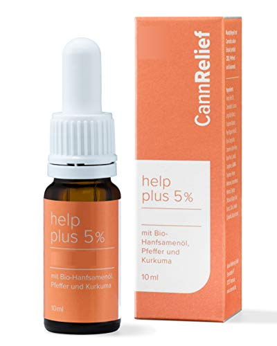 CANNRELIEF® Help Plus Bio Tropfen -...