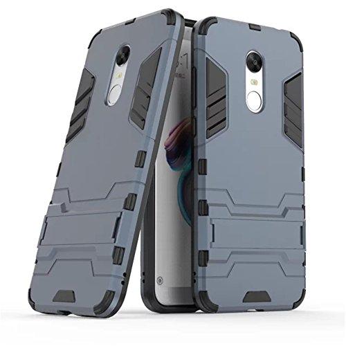 Cover Xiaomi Redmi 5 Plus, Custodia bella resistente GOGME [Tough Armor Series] Robusto TPU / PC Armadio ibrido doppio strato,pannello...
