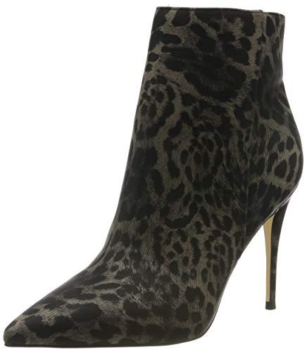 Guess Olanes/shootie (ankle Boot)/l, Bottes Classiques Femme, Multicolore (Leopard L Multicolore Op A), 38 EU