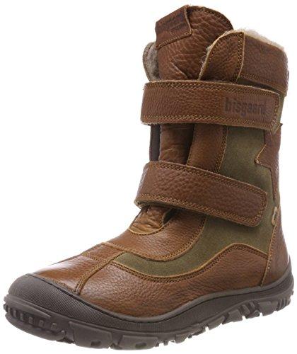 Bisgaard 61017218 dziecięce buty zimowe, brązowy - Braun 504 1 Brandy - 31 EU