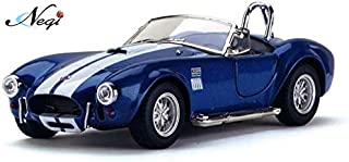 Negi Kinsmart Car 1:32 1965 Shelby Cobra 427 S/C Car Open Door Car Metal Car Die-Cast Car Pull Back Car (Colour May Vary & Any One) (1965 Shelby Cobra 427)