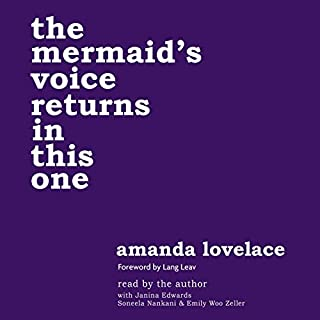 the mermaid's voice returns in this one audiobook cover art