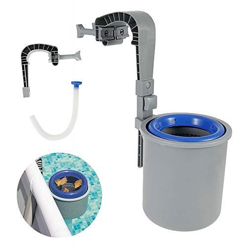 Iraza Oberflächenskimmer Automatisch Pool Filter Oberflächen Sauger Skimmer Wandmontage Einhängeskimmer Oberflächenskimmer Zum Schwimmbe