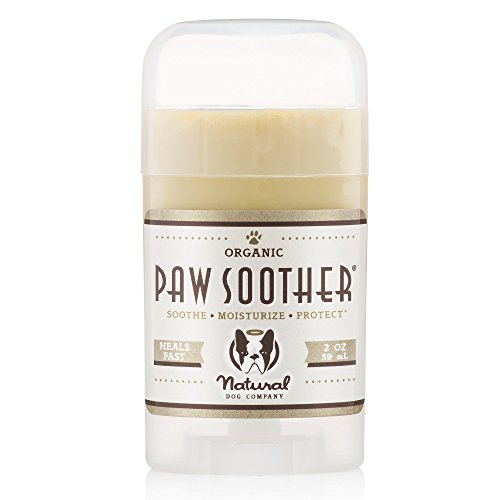 Natural Dog Company Paw Soother, Heals Dry, Cracked,...