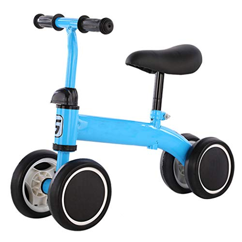 Baby Balance Bike, Baby Toddler Tricycle Bike No Pedals, Baby Walker Push Bike for 1-4 Year Old Boys Girls Kids and Toddlers First Ride-on Toys Birthday Gifts