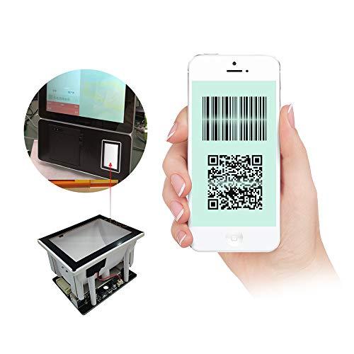 Aibecy 2D / QR / 1D Scanner de code à barres du scanner de code à barres intégré 960 * 680 COMS avec interface USB