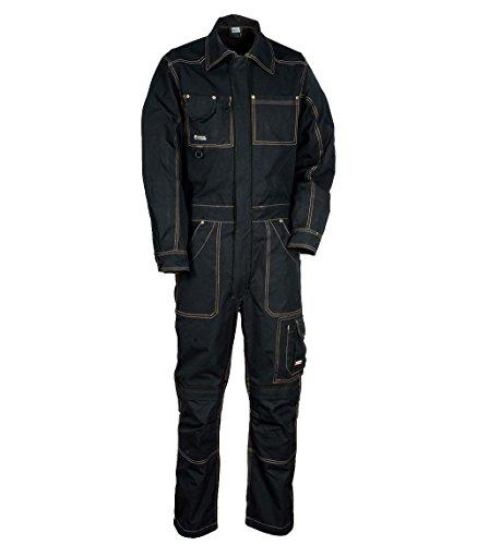 "Cofra V056-0-05.Z60 Arbeitsanzug \""Marseilles\"", schwarz, Größe 60"