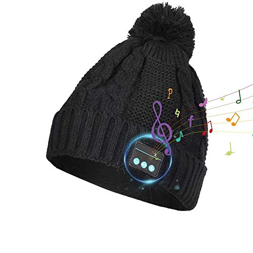 FGHTL Bluetooth Beanie Music Hat, Wireless Headphone Beanie, Calidad de Sonido HD...