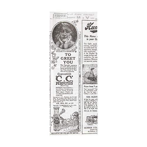 500 Stück – Beutel offen 2 Seiten – Hot Dog 'Times' 34 g/m² 9 + 3 x 22 cm weiß Perg. Fettabweisend
