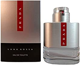 Prada Luna Rossa Eau de Toilette Spray for Men, 1.7 Ounce