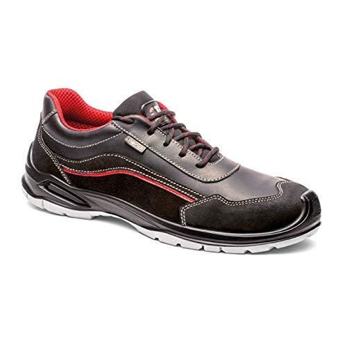 Zapatillas de Seguridad Deportiva hidrofugada Resistente al Agua para Hombre y Mujer/Zapato de Trabajo Comodo,Puntera Reforzada en Fibra de Vidrio(no Acero) Calzado Laboral Antideslizantes (48)