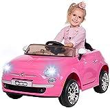 Actionbikes Motors Kinder Elektroauto FIAT 500 - Lizenziert - Mp3 - USB - SD - 2,4 Ghz Rc...