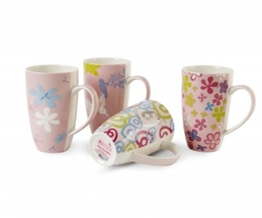 Maxwell & Williams Pink Paradise 14-oz. Mug - Set of 4 - Gift Boxed