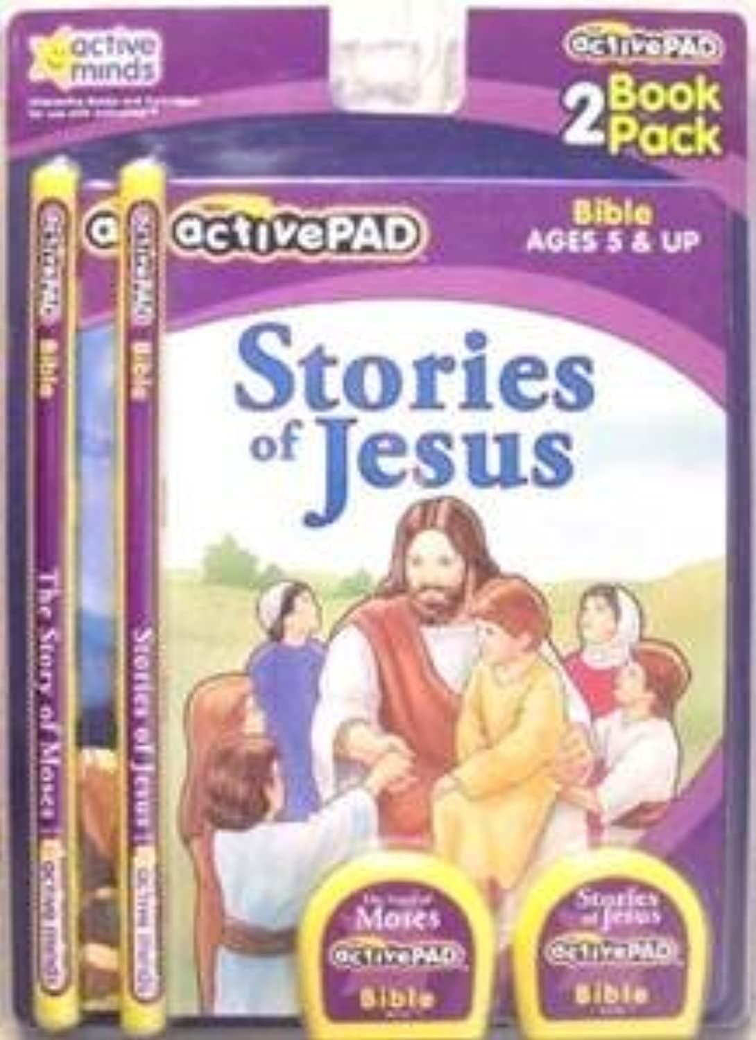 ACTIVE PAD BIBLE STORY BOOKS