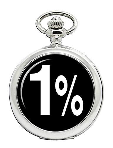 Outlaw Biker 1% full Hunter reloj de bolsillo