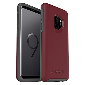 OtterBox SYMMETRY SERIES Case for Samsung Galaxy S9 - Retail Packaging - FINE PORT CORDOVAN/SLATE GREY