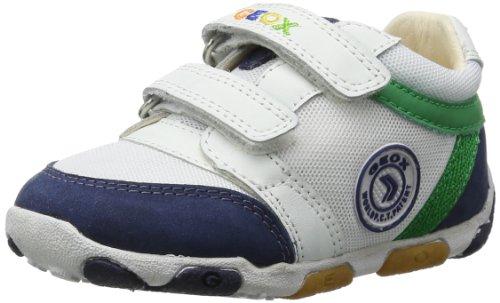 Geox Baby Jungen B BALU' BOY C Lauflernschuhe, Weiß (White/Navy C0899), 22 EU