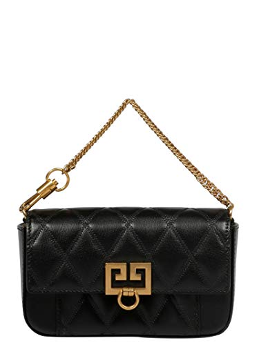 Givenchy Luxury Fashion Donna BB604DB08Z001 Nero Borsa A Spalla | Stagione Permanente