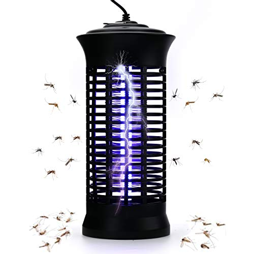 Dekugaa Bug Zapper Indoor - Insects Killer - Fly Trap Outdoor Patio - Insect Killer Zapper - Mosquito Trap - Insect Zapper - Mosquito Attractant Trap - Fly Zapper - Bug Zapper Table Top