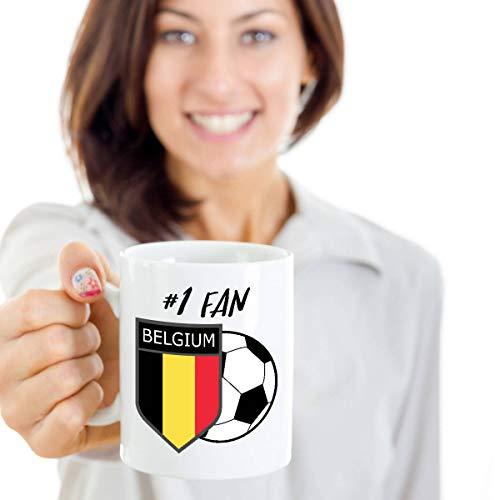 Sp567encer Belgische voetbalbeker België 2018 beker Belgische voetbal-koffiemok België beker
