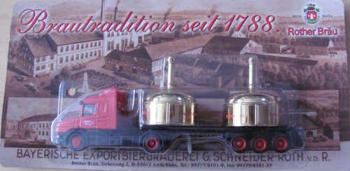 Rother Bräu Nr.16 - Brautradition seit 1788 - Scania - Sattelzug mit Sudpfannen