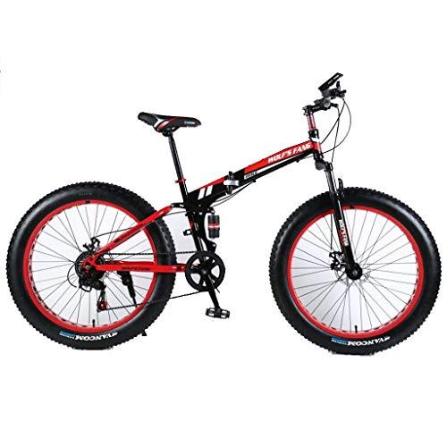Tengma Mens Fat Tire Mountain Bike, 26-Inch Wheels, 17-Inch/Medium High-Tensile Aluminum Frame, 21-Speed, Tolan Disc Brake/MTB Break Lever, up to 200KG,Outdoor Bicycle
