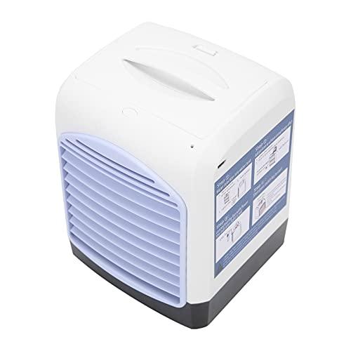 Enfriador De Aire, Ventilador De Enfriamiento De Aire Utilice Una Cortina Húmeda De Fibra Vegetal Refrigeración Rápida para Proporcionar Un Mejor Aire Y Disfrutar del Verano Fresco