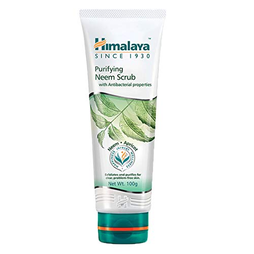 Himalaya Purifying Neem Scrub for a Deep Clean to Reduce Acne & Remove Dead Skin, 5.07 oz