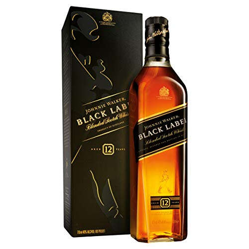 Johnnie Walker Black Whisky Escocés - 700 ml