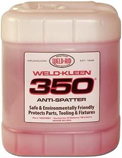Weld-Aid Weld-Kleen 350 Anti-Spatter Liquid, 5 gal