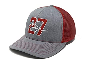 Aced Out Mike Trout 27 Hat - Trucker  Grey/Red
